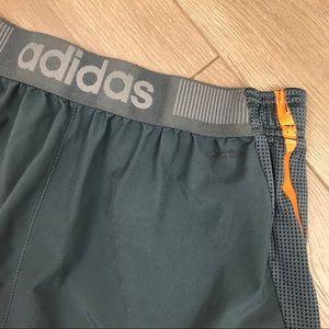 ADIDAS Gray Men's Athletic Sport Basketball Shorts